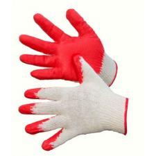 Перчатки хб одинарный облив латекс РФ 13 кл